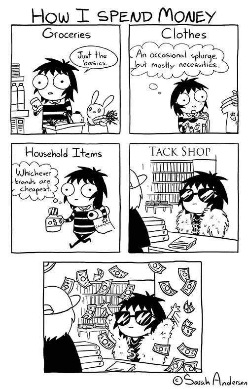 How I spend my money